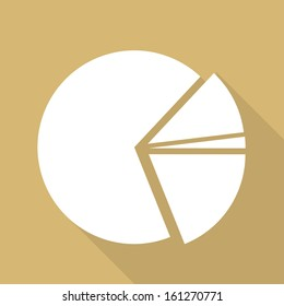 circular diagram web icon