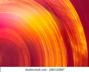 Circular painted flat background
