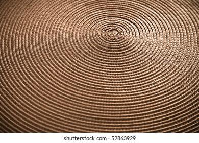 Circular Pattern In Placemat