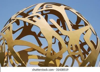 Circular structure in Brasilia