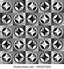 circular stylish abstraction