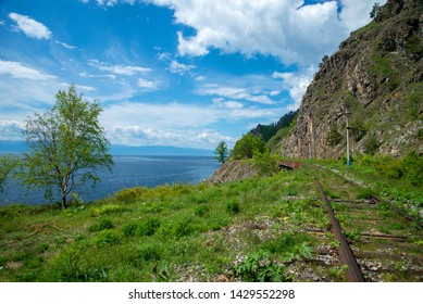 Circum-Baikal railway. Nature of Baikal. Journey through the lake. Railway. Around Baikal. Paravoz. Around Baikal on paravoz. Landscapes of Baikal