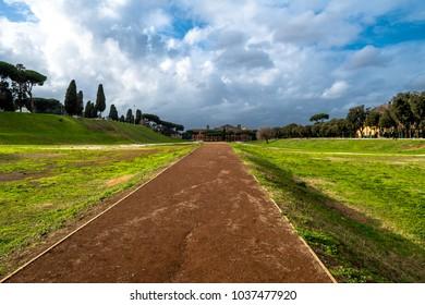 Circus Maximus in Rome in Italy