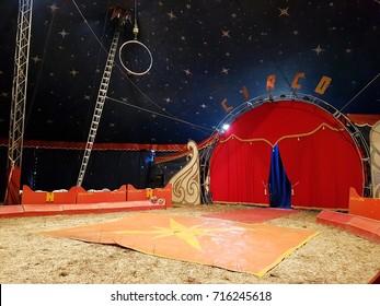 circus under a starry sky, Naples september 2017