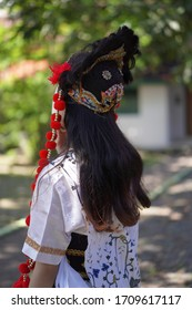 Cirebon, West Java / Indonesia - Jan 6th 2019: Penari Topeng Cirebon