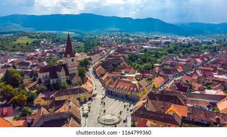 Cisnadie city, Sibiu County