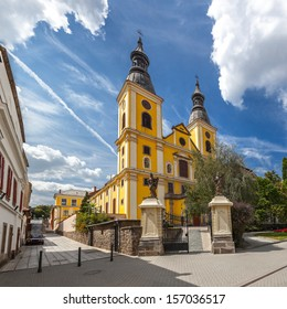The Cistercian Church in Eger, Hungary.