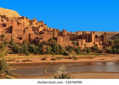 Citadel of Ait Ben Haddou. Morocco