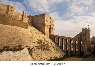 Citadel of Aleppo, Aleppo, Syria. December of 2008