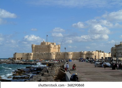 The Citadel of Alexandria in Egypt, 2012 December 14