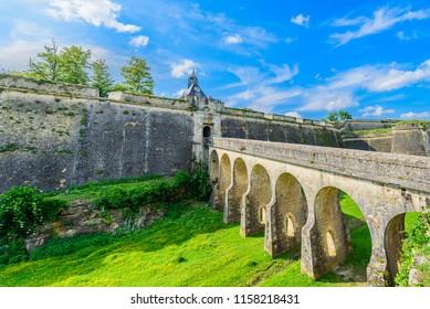 Citadel Blaye, UNESCO world heritage site in Bordeaux, region Garonne