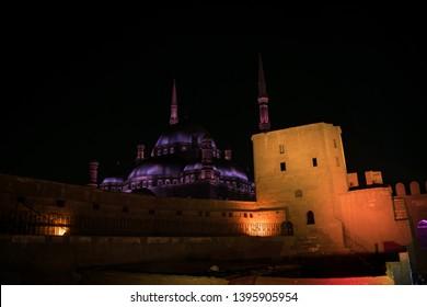 The Citadel - Mohamed Ali Mosque Cairo, Egypt / 27 April, 2019