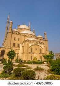 The citadel mosque in Cairo, Egypt