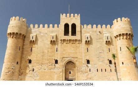 Citadel of Qaitbay in Alexandria City, Egypt