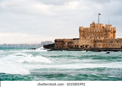 Citadel of Qaitbay in Alexandria in Egypt