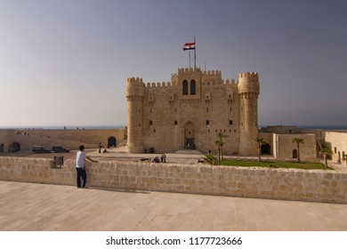 Citadel of Qaitbay in Alexandria,Egypt 27.04.2011
