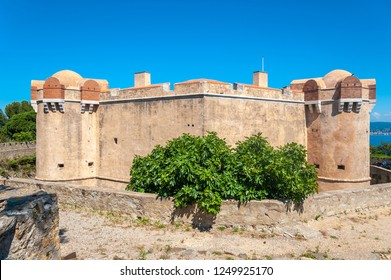 Citadel of Saint-Tropez in the Department Var of the province Provence-Alpes-Cote d Azur