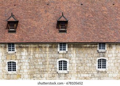 Citadel Vauban of Besancon, in the French Jura