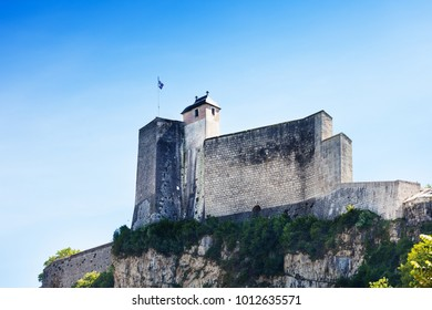 Citadel of the walled city in Besancon, France