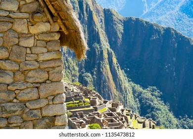 The citadell of Machu Picchu, Peru