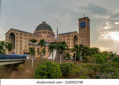 Cities of Brazil - Aparecida do Norte, SP - Our Lady Aparecida Cathedral