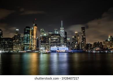 Citiy skyline at the night