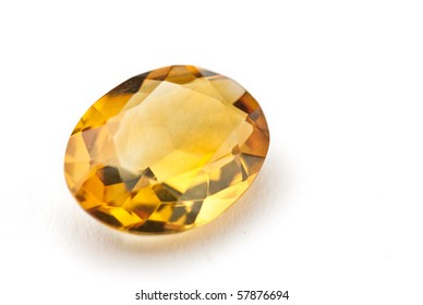 citrin Jewel isolated against a white background