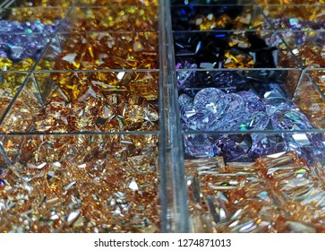 Citrine and topaz gemstone