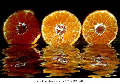 Citrus with reflections