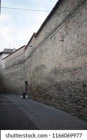 Citta di Castello, Italy - August 23, 2018 : View of Lanai street