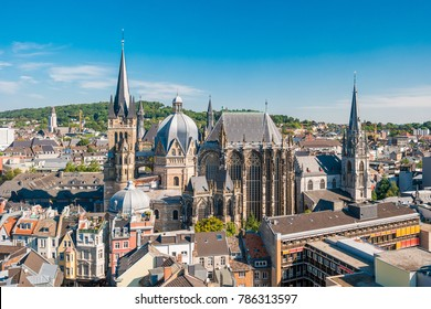 The city of Aachen, Germany