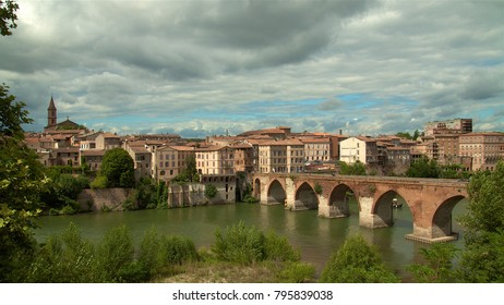 City of Albi in France (Pont Vieux), August 2008