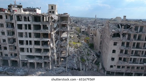 the city of Aleppo in Syria