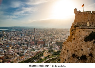 City of Alicante in Spain