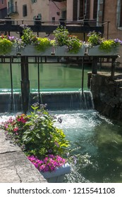 City of Annecy , river thiou