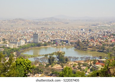 City of Antananarivo at sunny day. Madagascar