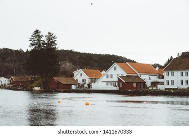 The city of Arendal in South Norway