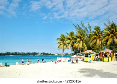 City Beach At Nassau, The Bahamas