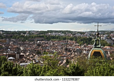 city of besancon in franche comté france