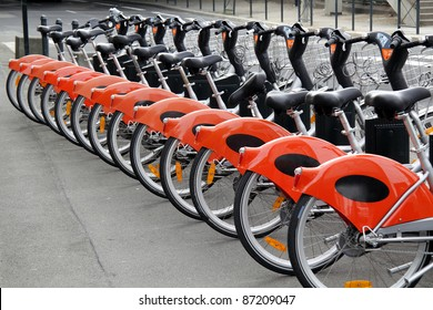 City bikes for rent