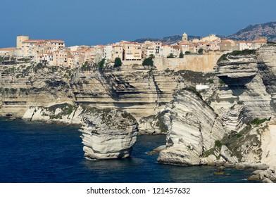 City of Bonifacio, Corsica, France
