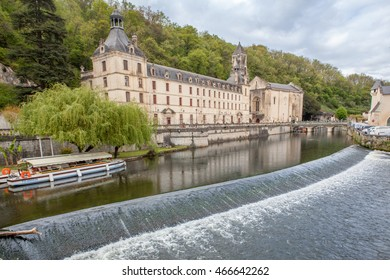 city of Brantome in Dordogne
