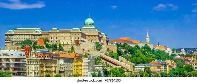 City Budapest landscape