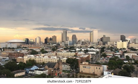 city buildings and view of New Orleans, Louisiana