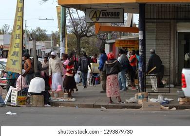 The City of Bulawayo in Zimbabwe, 16 September 2012