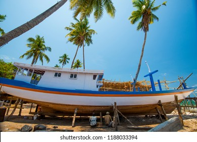 City : Bulukumba South Sulawesi, Country : Indonesia  M/D/Y : October, 2, 2013.   Bulukumba regency is famous for boat industry phinisi a lot of economic added value for society and local government,