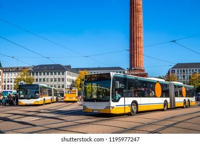 City Bus, Darmstadt, Germany
