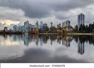 City by the lake