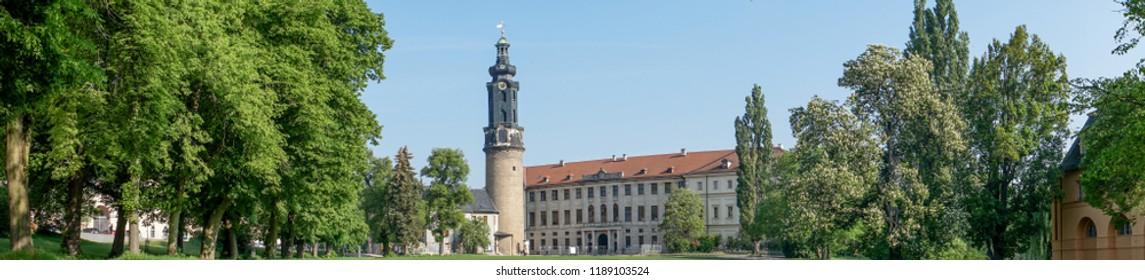 city castle in Weimar in Germany