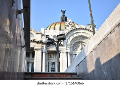 México City CDMX / México; October 20, 2019; Palace of fine arts in México City.